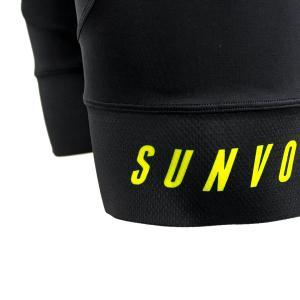 PROパフォーマンス半袖セパレートワンピース(イエロー)|sunvolt-store|06