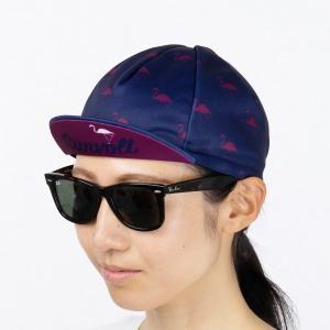 サイクルキャップ[フラミンゴ]フリーサイズ|sunvolt-store