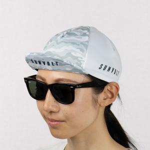 サイクルキャップ[ホワイトカモフラージュ]フリーサイズ|sunvolt-store