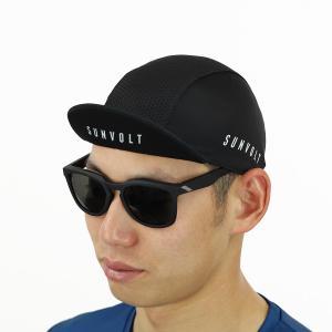 サイクルキャップ[ブラック]フリーサイズ|sunvolt-store