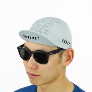 サイクルキャップ[グレー]フリーサイズ|sunvolt-store