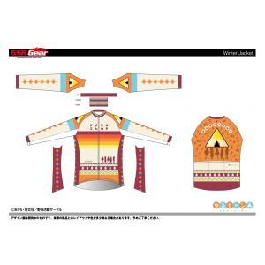 《予約販売分》ゆるキャン△ サイクルウインタージャケット|sunvolt-store
