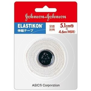 テーピング エラスチコン0674(1本入) アシックス 伸縮性粘着テープ(ハードタイプ) TJ0674|sunward