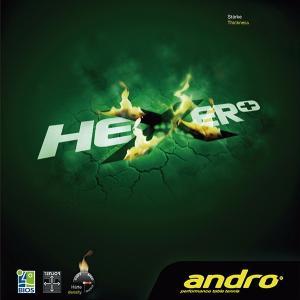 andro(アンドロ) ヘキサープラス/HEXER+ 112261 卓球ラバー 回転テンション系裏ソフトラバー(テンゾーバイオス4G) 卓球用品(メール便利用可) sunward