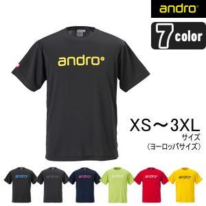 アンドロ ナパTシャツ4 卓球ユニフォーム Tシャツ 男女兼用 andro|sunward