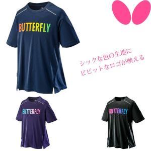 卓球 Tシャツ バタフライ BUTTERFLY GL・Tシャツ メンズ レディース ウェア 45580|sunward