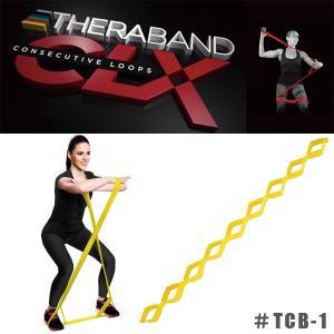 THERABAND CLX セラバンドCLX エクササイズ バンド #TCB-1 シン イエロー|sunward