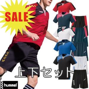 (決算セール)hummel ヒュンメル ハンドボール Tスーツ Tシャツ パンツ HAP1130SP 半袖シャツ セール sale %off|sunward