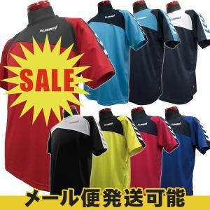 (決算セール)hummel ヒュンメル ハンドボール Tシャツ ドライTシャツ HAY2071 半袖シャツ セール sale %off|sunward