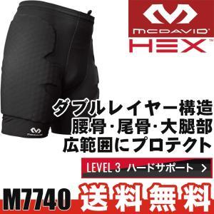 マクダビッド HEX ヘックスパッド ガードショーツ スポーツ ヒップ プロテクター サッカー ユースサイズ対応 McDavid M7740|sunward