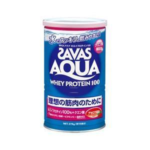 ザバス アクア ホエイプロテイン100 アセロラ風味(378g:18食分) CA1335 スポーツサプリメント|sunward