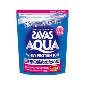 ザバス アクア ホエイプロテイン100 アセロラ風味(840g:40食分) CA1337 スポーツサプリメント|sunward