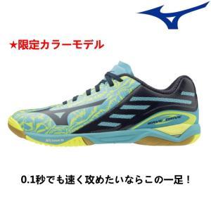 (予約/2020年2月発売)(限定カラー) 卓球シューズ ミズノ MIZUNO ウエーブドライブ Z 2E相当 81GA1600
