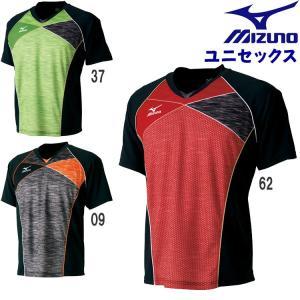 ミズノ mizuno ゲームシャツ(ユニセックス) 卓球ウェア メンズ レディース ユニフォーム 82JA7002|sunward