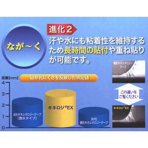 【期間限定3割引き】日本製キネシオテープ 撥水・ 伸縮タイプ (50.0mm×5m)×6巻箱入 ニトリート キネロジEX NKEX-50 テーピング キネシオロジーテープ|sunward|04
