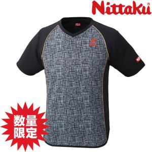 (数量限定セール)Nittaku ニッタク デジックシャツ NW-2185 卓球ユニフォーム sunward