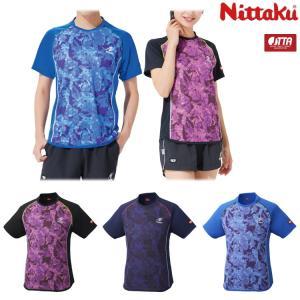 (数量限定セール)卓球ユニフォーム ニッタク Nittaku フラージュシャツ メンズ レディース ...
