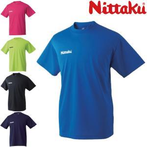 ニッタク(Nittaku) ドライTシャツ NX-2062 卓球Tシャツ 男女兼用 ジュニア対応 卓...
