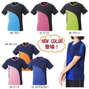 (NEWカラー追加) ニッタク Nittaku 卓球ウエア カールTシャツ NX-2078 男女兼用 卓球用品 sunward