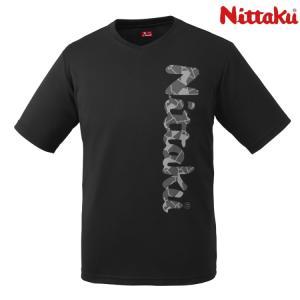 卓球Tシャツ ニッタク Nittaku ビーロゴTシャツ2 メンズ レディース ジュニアサイズ対応 ...