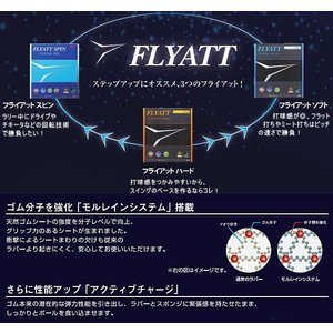 フライアット ソフト ニッタク 卓球ラバー 攻撃用裏ソフトラバー NR-8561  ★DM便利用可 卓球用品|sunward|03