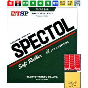 (数量限定セール)TSP 卓球ラバー スペクトル スピード系表ソフトラバー 020082 sunward
