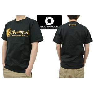 セール SOUTH POLE サウスポール Tシャツ メンズ 半袖 エンブレム箔プリント 11522053 sunwear