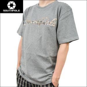 セール SOUTH POLE サウスポール Tシャツ メンズ 半袖 3D 箔プリント 11522061 sunwear