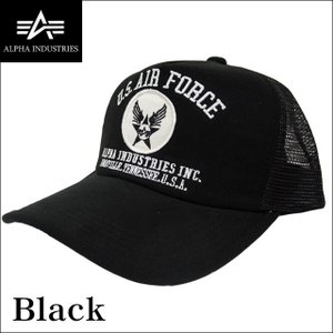 アルファインダストリーズ ALPHA INDUSTRIES メッシュキャップ US AIR FORCE 帽子 14353700|sunwear