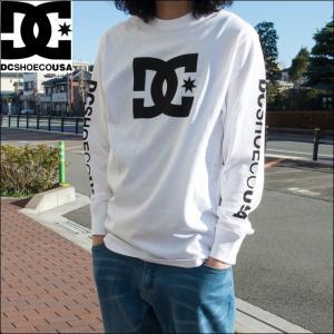 DC SHOES ディーシーシュー Tシャツ メンズ ロゴプリント長袖Tシャツ 5125J701 sunwear
