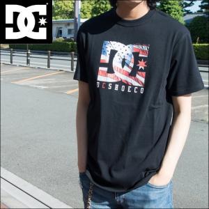 DC SHOES ディーシーシュー Tシャツ メンズ 17 USTAR 星条旗ロゴ 半袖Tシャツ 5226J702 sunwear