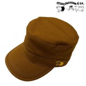 ステュディオ ダルチザン STUDIO D'ARTISAN ワークキャップ ロゴ刺繍 帽子 7222 sunwear