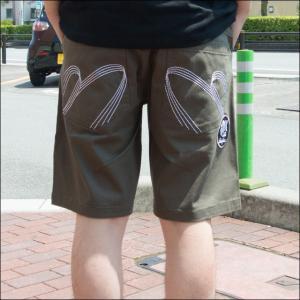 ネスタブランド NESTA BRAND ×HAN-KUN メンズ ストレッチ スケーター ショーツ 72NB1900|sunwear