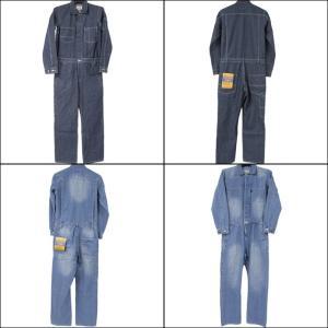 JUNGLE STORM ジャングルストーム メンズ 長袖 デニム オールインワン ツナギ 作業着 840435|sunwear
