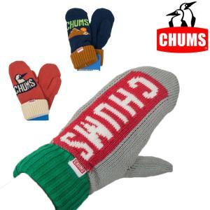 チャムス CHUMS サイクロン ニット ミトン 手袋 CH09-1036|sunwear