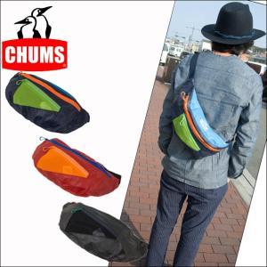 チャムス CHUMS ボックスエルダーファニーパック 斜めがけ ウエストバッグ 男女兼用 CH60-2131|sunwear