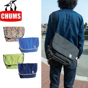 チャムス CHUMS エコ ロゴ メッセンジャー バッグ ショルダーバッグ メンズ レディース CH60-2326|sunwear