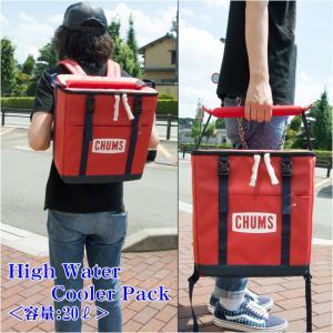 チャムス CHUMS ハイウォータークーラーパック High Water Cooler Pack クーラーバック 保冷バック CH60-2358|sunwear