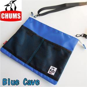 チャムス CHUMS ショルダーバッグ エコサコッシュショルダー Eco Sacoche Shoulder メンズ レディース CH60-2360|sunwear