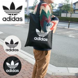 adidas Originalsのショッパーバッグです。  フロントにトレフォイルのロゴをあしらい、...