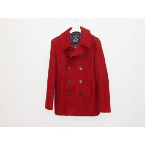 セール Gloverall(グローバーオール) メンズ メルトンウール素材 やや細め Pコート(ピーコート、ショートコート)#2140MM|sunwear