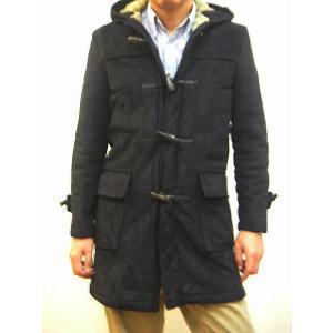 セール!送料無料!大人の魅力!Gloverall(グローバーオール) メンズ 裏ボア フェイクムートン素材 ダッフルコート#920SWF ブラック!|sunwear