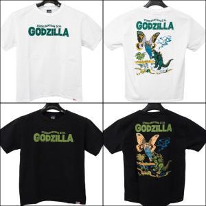 ステュディオ ダルチザン STUDIO D'ARTISAN ×ゴジラ コラボ メンズ 半袖Tシャツ GZ-004 sunwear
