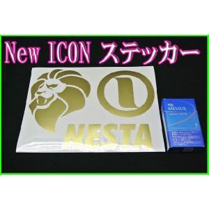 NESTA BRAND ネスタブランド ライオンマーク ステッカー Lサイズ STK-15L|sunwear