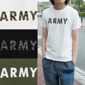アルファインダストリーズ ALPHA INDUSTRIES Tシャツ メンズ ARMY プリント 半袖Tシャツ TC1126-06|sunwear