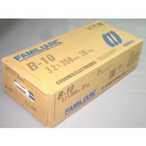 神戸製鋼/KOBELCO アーク溶接棒 B-10 3.2mm (20kg)|sunwel