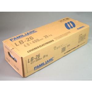 神戸製鋼/KOBELCO アーク溶接棒 LB-26 4.0mm (20kg)|sunwel