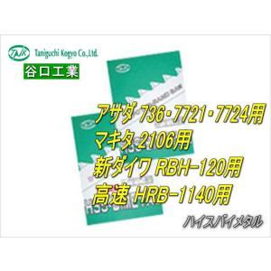谷口工業 ハイスバイメタル ポータブルバンドソー替刃(5本入り) 13×0.65×1140|sunwel