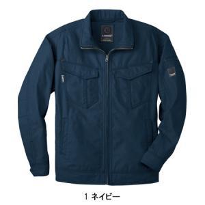秋冬用 作業服 作業着 長袖ブルゾン 桑和SOWA5773|sunwork|03