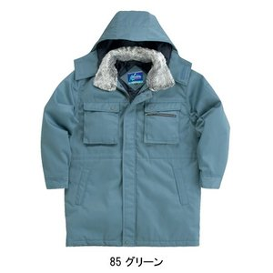秋冬用作業用 防寒コート クロダルマKURODARUMA54380|sunwork|04